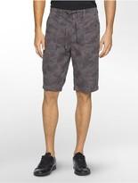 Calvin Klein Camouflage Poplin Shorts