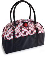 2 Red Hens Coop Carry-All Diaper Bag - Owl Dots