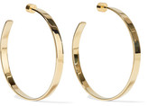 Jennifer Fisher Kate Gold-plated Hoop Earrings - one size