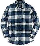 Vineyard Vines Boys' Flannel Whale Shirt - Little Kid, Big Kid