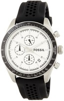 Fossil Men's Silicone Strap Watch