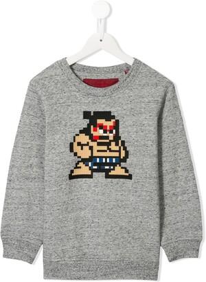 Mostly Heard Rarely Seen 8 Bit Tiny Sumo sweatshirt
