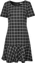 Great Plains Herringbone Check Dress