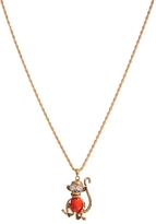 Kenneth Jay Lane Monkey Necklace