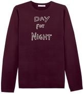 Bella Freud Day For Night Merino Sweater