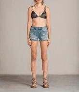 Allsaints Cara Camo Bikini Top