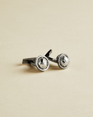 Ted Baker SHOPDO Rotating globe cufflinks