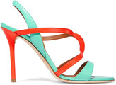 Malone Souliers Ronnie two-tone leather sandals