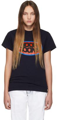 Noon Goons Navy Logo Fish Eye T-Shirt