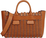 Paco Rabanne Women's 14#01 Cabas Small Tote-TAN