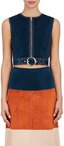 Derek Lam Women's Leather Crop Vest