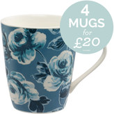 Cath Kidston Painted Rose Stanley Mug
