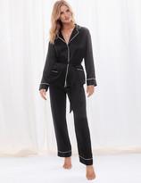 Rosie UsMarks and Spencer Pure Silk Tie Waist Pyjama Set