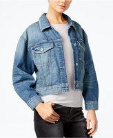 GUESS Originals Cropped Denim Jacket