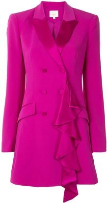 Cinq à Sept Draped Detail Blazer Dress