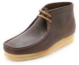 Clarks Leather Wallabee Boots
