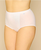 Yours Clothing SLOGGI 2 PACK White Control Maxi Briefs