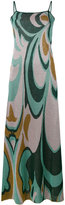 Circus Hotel patterned cami dress - women - Viscose/Polyester - 40