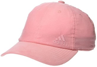 adidas Saturday Plus II Relaxed Adjustable Cap (Glory Pink) Baseball Caps