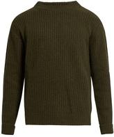Études Echo Crew-neck Wool-blend Sweater