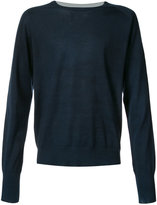 Maison Margiela classic crew neck sweater - men - Cotton - M