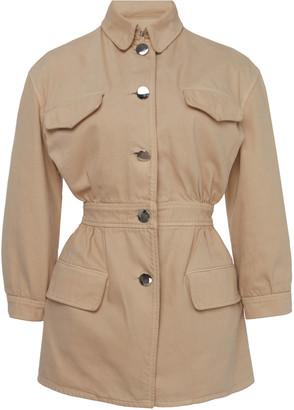 Prada Gathered Cotton Jacket