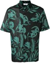 Ami Alexandre Mattiussi printed polo shirt - men - Cotton - S