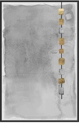 Jonathan Bass Studio Mystery Rain Gold Leaf