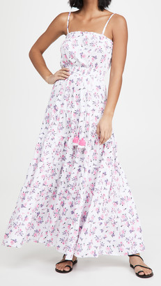 Playa Lucila Tiered Floral Maxi Dress