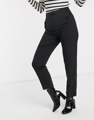 Miss Selfridge cigarette pants in black