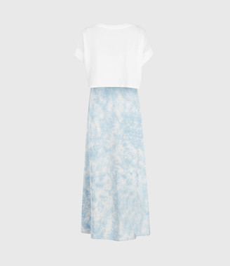 AllSaints Imo Tie Dye 2-In-1 Dress