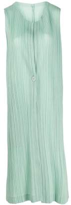 Pleats Please Issey Miyake layered pleated dress