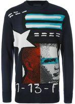 Diesel Black Gold 'Kalvin' sweatshirt - men - Acrylic/Wool - XL