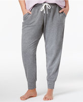 Alfani Plus Size Double-Knit Pajama Pants, Only at Macy's