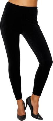 Lysse Women's Ella Seamed Velvet Legging