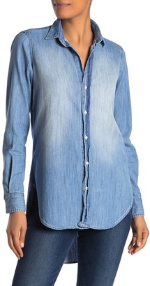Frank And Eileen Grayson Faded Wash Front Button Shirt