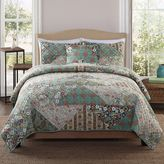Bed Bath & Beyond Country Triangle Patchwork Twin Quilt Set