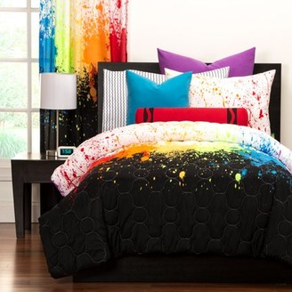Crayola Cosmic BurstFull/Queen Comforter Set