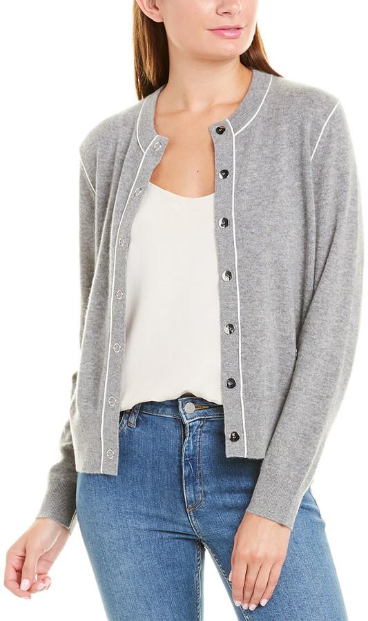 Burberry Monogram Motif Cashmere Cardigan ShopStyle Jackets