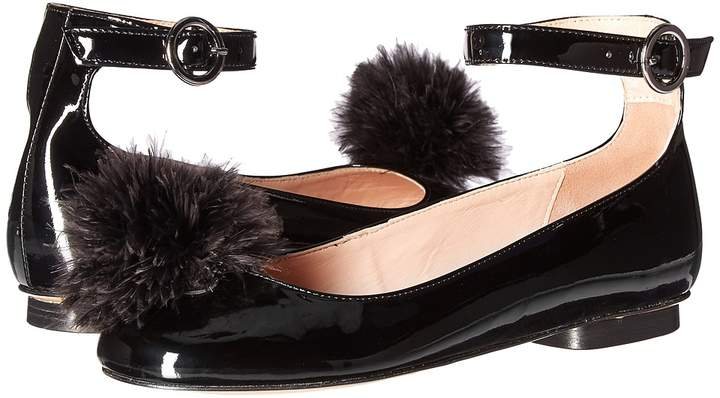 Moschino Pom Pom Flat Women's Shoes