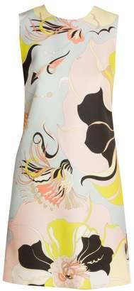 Emilio Pucci Mirabilus Sleeveless Shift Dress