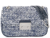 MICHAEL Michael Kors tweed crossbody bag - women - Cotton/Leather - One Size