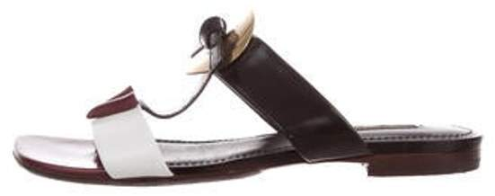 Louis Vuitton Embellished T-Strap Sandals White Embellished T-Strap Sandals