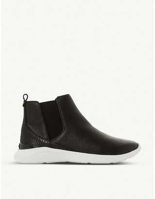 Dune Easy leather trainer boots