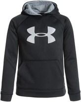 Famous Brand ColdGear® Storm 1 Big Logo Fleece Hoodie (For Big Boys)