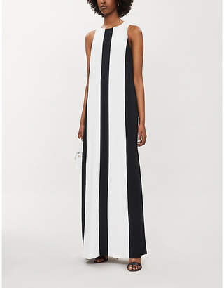 Ted Baker Glidda Stripe Crepe Maxi Dress