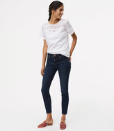 LOFT Tall Modern Skinny Ankle Jeans in Authentic Dark Wash