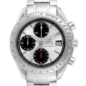 Omega Speedmaster White Steel Watches