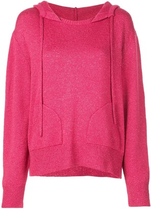 Beau Souci knitted hoodie