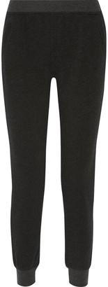 ATM Anthony Thomas Melillo French Cotton-blend Terry Slim-leg Pants